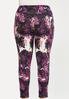 Plus Size Shaded Bloom Leggings alternate view
