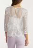 Scalloped Lace Top alternate view