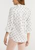 Plus Size Butterfly Print Top alternate view