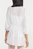 Plus Size Lace Inset Tiered Tunic alt view