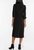 Black Midi Dress alternate view
