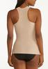 Plus Size Nude Smoothing Laser Tank alt view