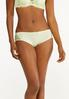 Plus Size Gray And Green Lace Panty Set alt view