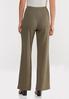 Petite Textured Self- Tie Pants alternate view