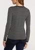 Contrast Stripe Sweater alternate view
