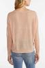 Blush V- Neck Sweater alt view