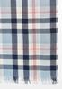 Practical Plaid Oblong Scarf alternate view