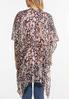 Sequin Thread Woven Kimono alternate view