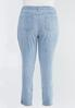 Plus Size Lightwash Skinny Jeans alternate view