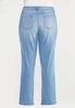 Plus Size Shape Enhancing Straight Leg Jeans alternate view