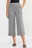 Cropped Gingham Pants alternate view