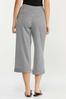 Cropped Gingham Pants alt view