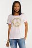 Plus Size Floral Peace Tee alternate view