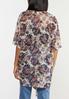 Plus Size Floral Lace Kimono alternate view