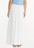 Gauze Tie Waist Maxi Skirt alternate view