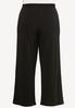 Plus Size Solid High- Rise Pants alternate view