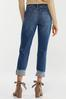 Cropped Distressed Jeans alt view