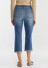 Curvy Cropped Skinny Jeans alternate view