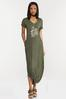 Plus Size Rise Above Knotted Maxi Dress alternate view