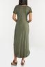Plus Size Rise Above Knotted Maxi Dress alt view