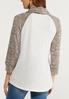 Plus Size Inspirational Cowl Neck Top alternate view