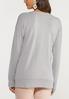 Plus Size Love Yourself Sweatshirt alternate view