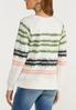 Plus Size Tie Dye Sweatshirt alternate view