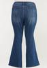 Plus Size Flare Jeans alternate view