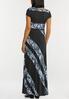 Plus Petite Mixed Print Maxi Dress alternate view