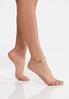 Leaf Stone Anklet alternate view