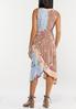 Plus Size Spring Bloom Faux Wrap Dress alternate view