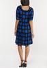 Plus Size Polka Dot Puff Sleeve Dress alternate view