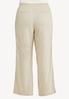 Plus Size Drawstring Linen Pants alternate view