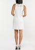 Plus Size Lace Mock Neck Shift Dress alternate view