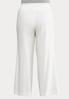 Plus Size Pull- On Linen Pants alternate view