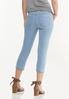 Cropped Lightwash Skinny Jeans alternate view