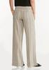 Neutral Stripe Linen Pants alternate view