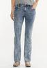 Petite Dark Vintage Wash Jeans alternate view