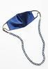 Navy Lucite Link Mask Chain alternate view