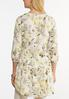 Plus Size Yellow Floral Tunic alternate view