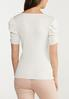 Plus Size Ruched Sleeve Sweater alternate view