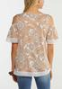 Paisley Cold Shoulder Top alternate view