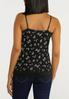 Plus Size Floral Lace Cami alternate view