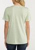 Plus Size Solid Burnwash Tee alternate view