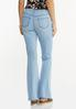 Pull- On Flare Jeans alternate view