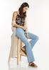 Pull- On Flare Jeans alt view