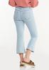 Cropped Lightwash Flare Jeans alternate view