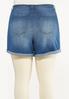 Plus Size Shape Enhancing Denim Shorts alternate view