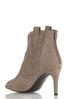Perforated Open Toe Ankle Boots alternate view