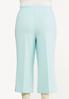Plus Size Cropped Sailor Pants alternate view
